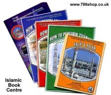 Collection of 5 Booklets on Hajj, Umrah, Ziyarah By: Saleem Dhorat ( NEW )